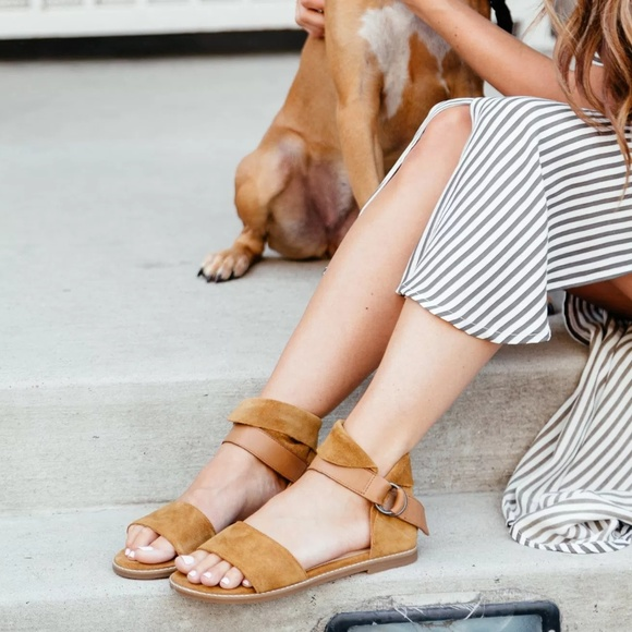 Hush Puppies Shoes - Hush Puppies 'Kelsey Chrissie' ankle strap sandal